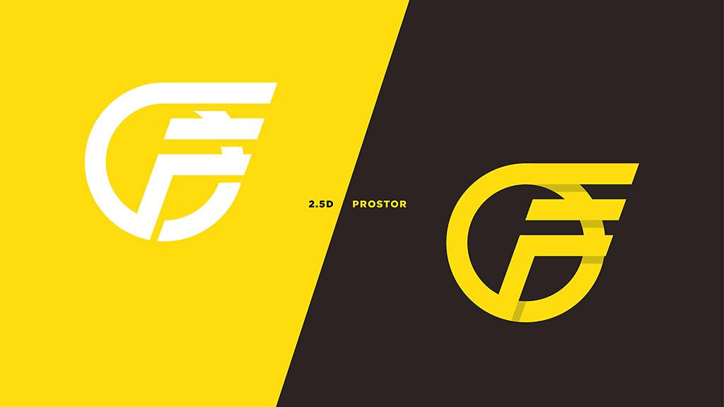 2.5D logo